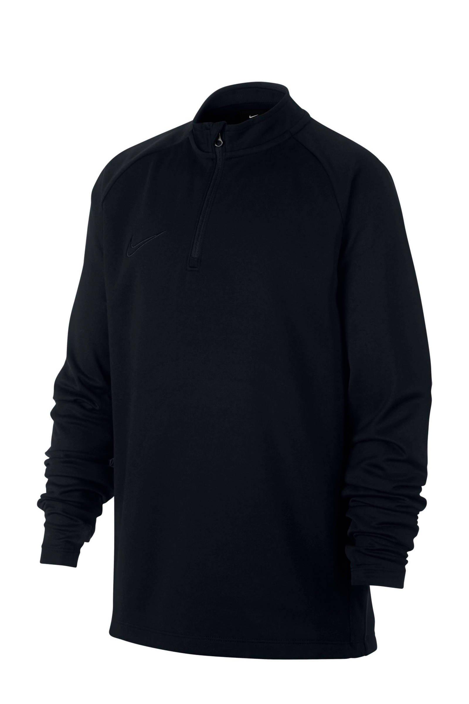 Nike voetbalshirt zwart - maat 128/140