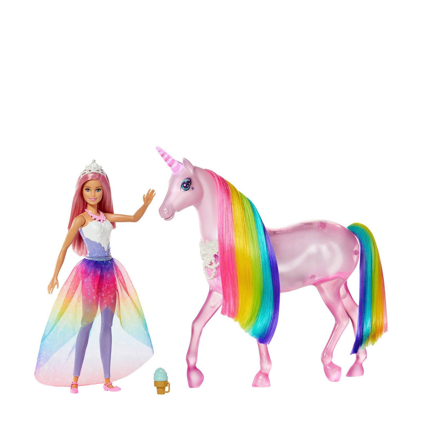 Barbie Dreamtopia Eenhoorn met pop