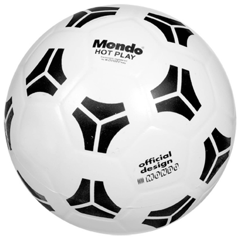 Voetbal - 23 Cm - Zwart/wit 23