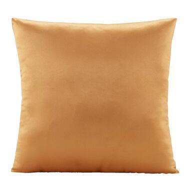 Sierkussen Kaja - oranje - 45x45 cm - Leen Bakker