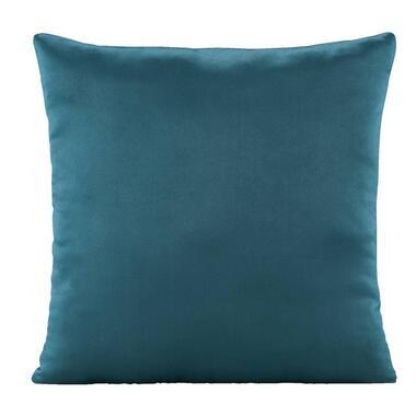 Sierkussen Kaja - blauw - 45x45 cm - Leen Bakker