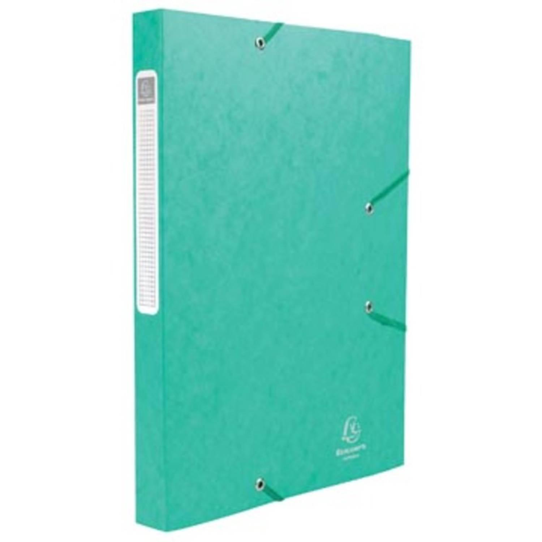 Exacompta Elastobox Cartobox Rug Van 2,5 Cm, Groen, 5/10e Kwaliteit