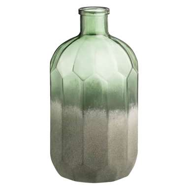 Vaas Ward - groen - 26x14 cm - Leen Bakker