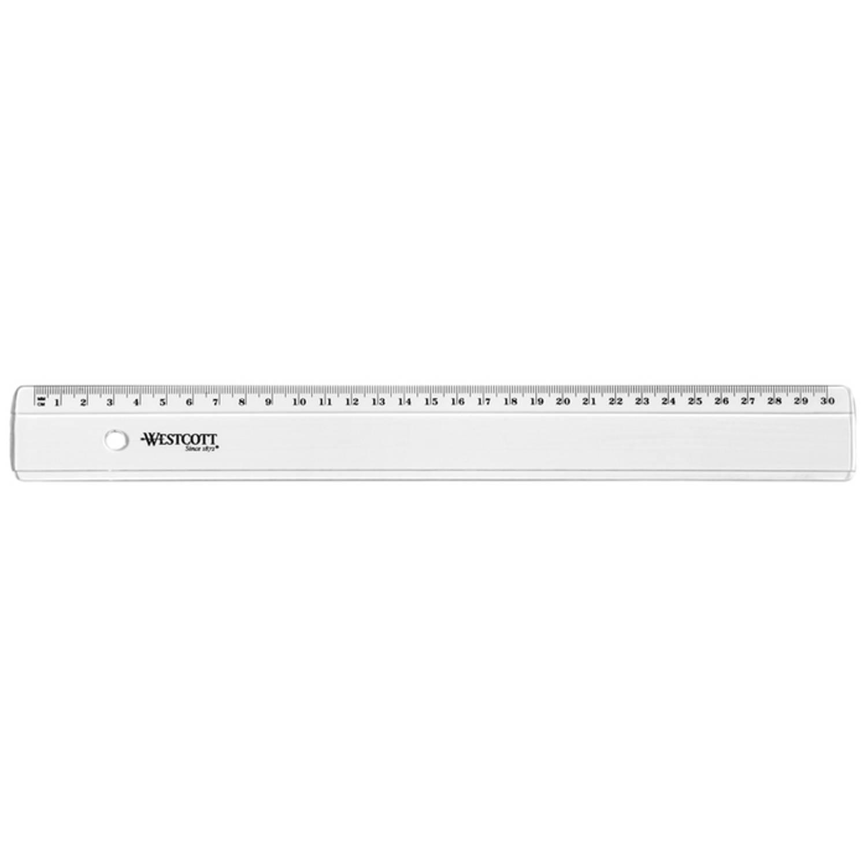 Liniaal Westcott 30cm Kunststof In Polybag