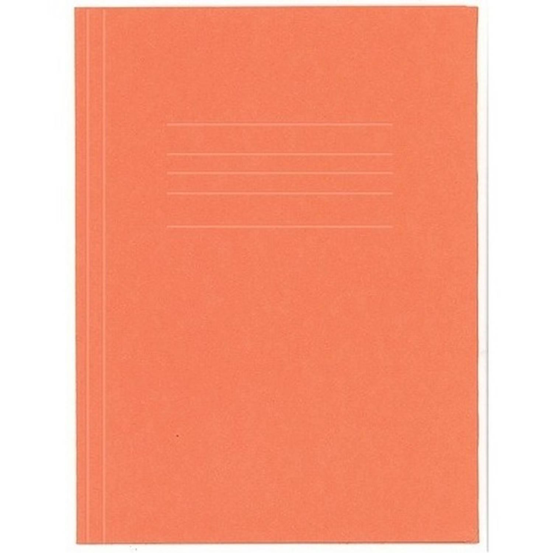 10 X Stuks Kangaro Dossiermap 24 X 35 Cm Oranje