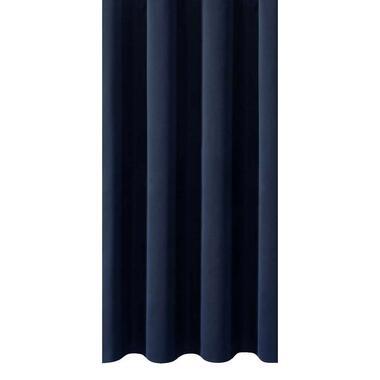 Gordijnstof Rome - donkerblauw - Leen Bakker