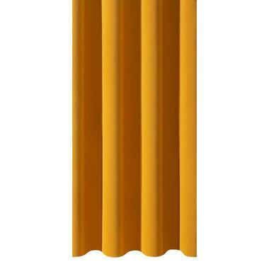 Gordijnstof Rome - geel - Leen Bakker