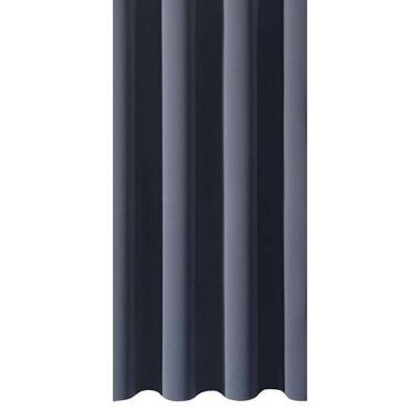 Gordijnstof Rome - grijsblauw - Leen Bakker