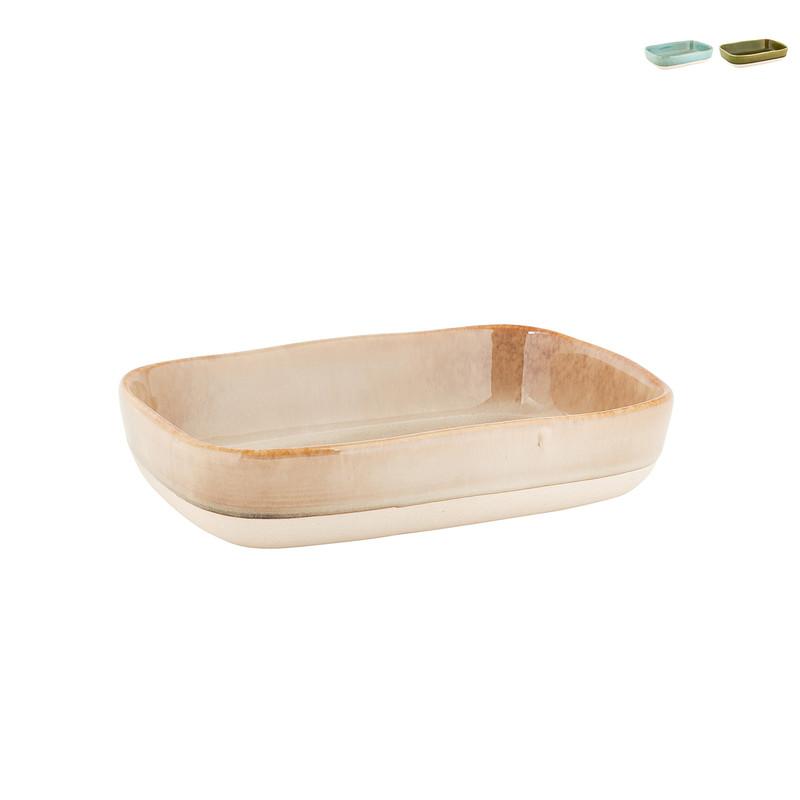 Ovenschaal Stoneware - Diverse soorten - 22x15x5 cm