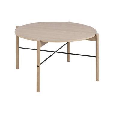 Salontafel Tornia - eiken - 45,2x80x80 cm - Leen Bakker