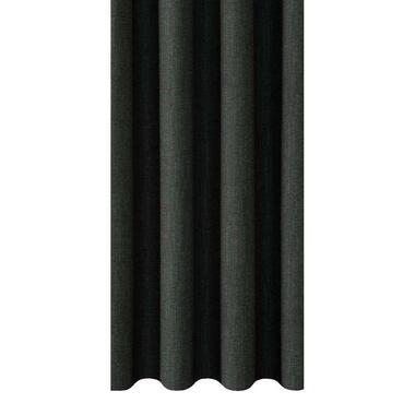 Gordijnstof Moreno - zwart/groen - Leen Bakker