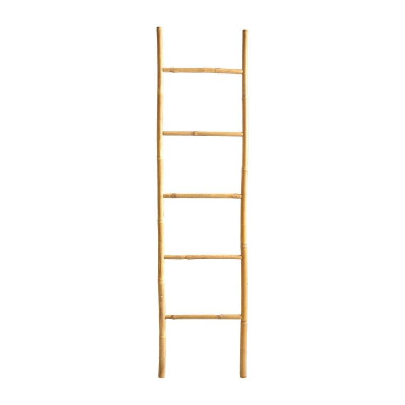 Decoratieve ladder bamboe - 45x170 cm