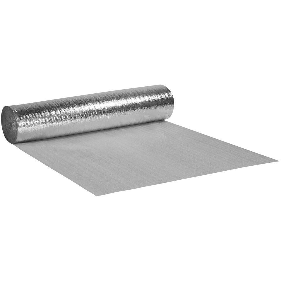 Ondervloer Iso-top Wit Zilver