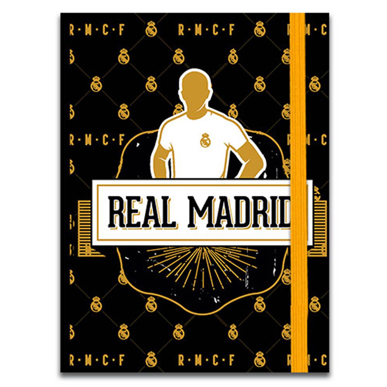 Real Madrid Schrift Junior 13.5 Cm Papier Bruin