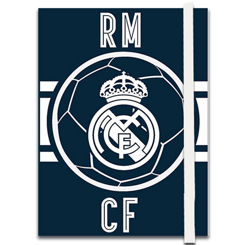 Real Madrid Schrift Junior 13.5 Cm Papier Blauw