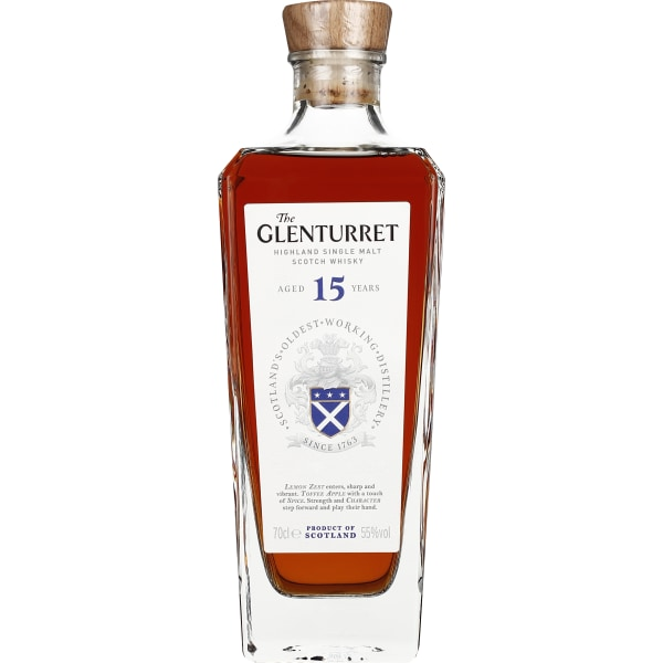 Glenturret 15 years Single Malt 70CL