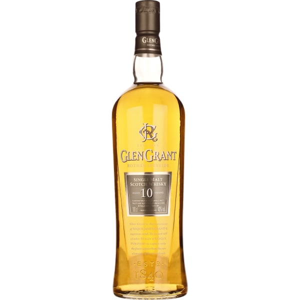 Glen Grant 10 years Single Malt 1LTR