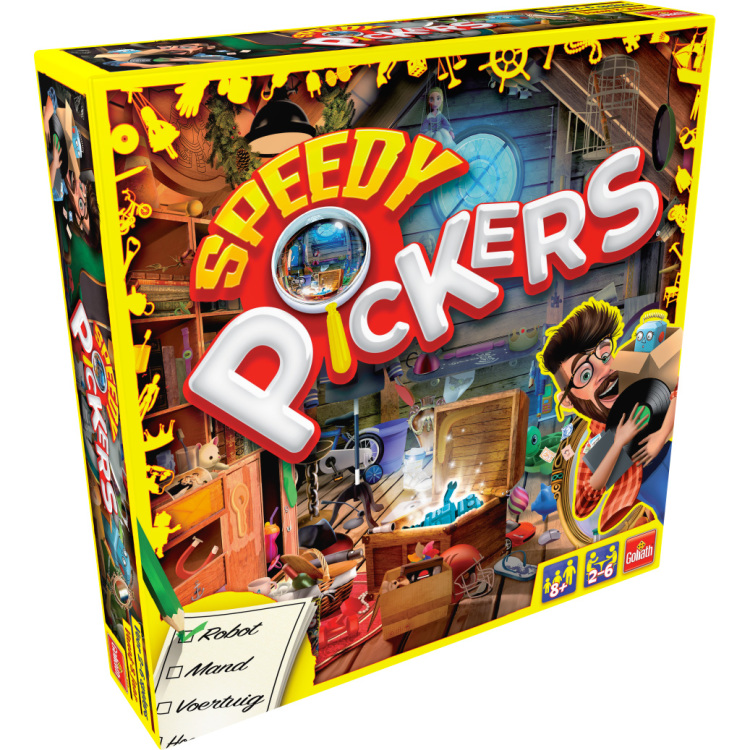 Goliath Games Speedy Pickers