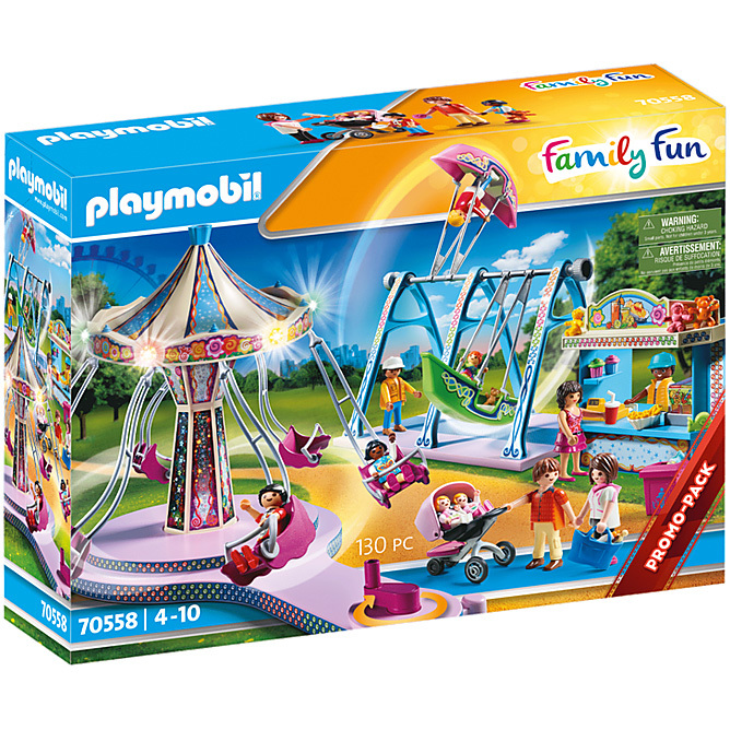 PLAYMOBIL Family Fun - Grote County Fair 70558