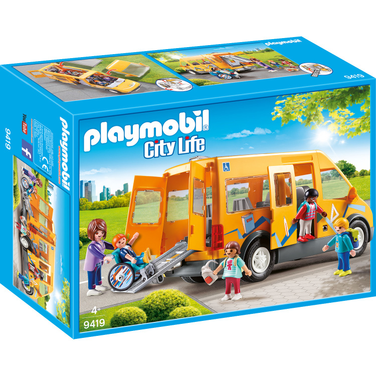 PLAYMOBIL City Life - Schoolbus 9419