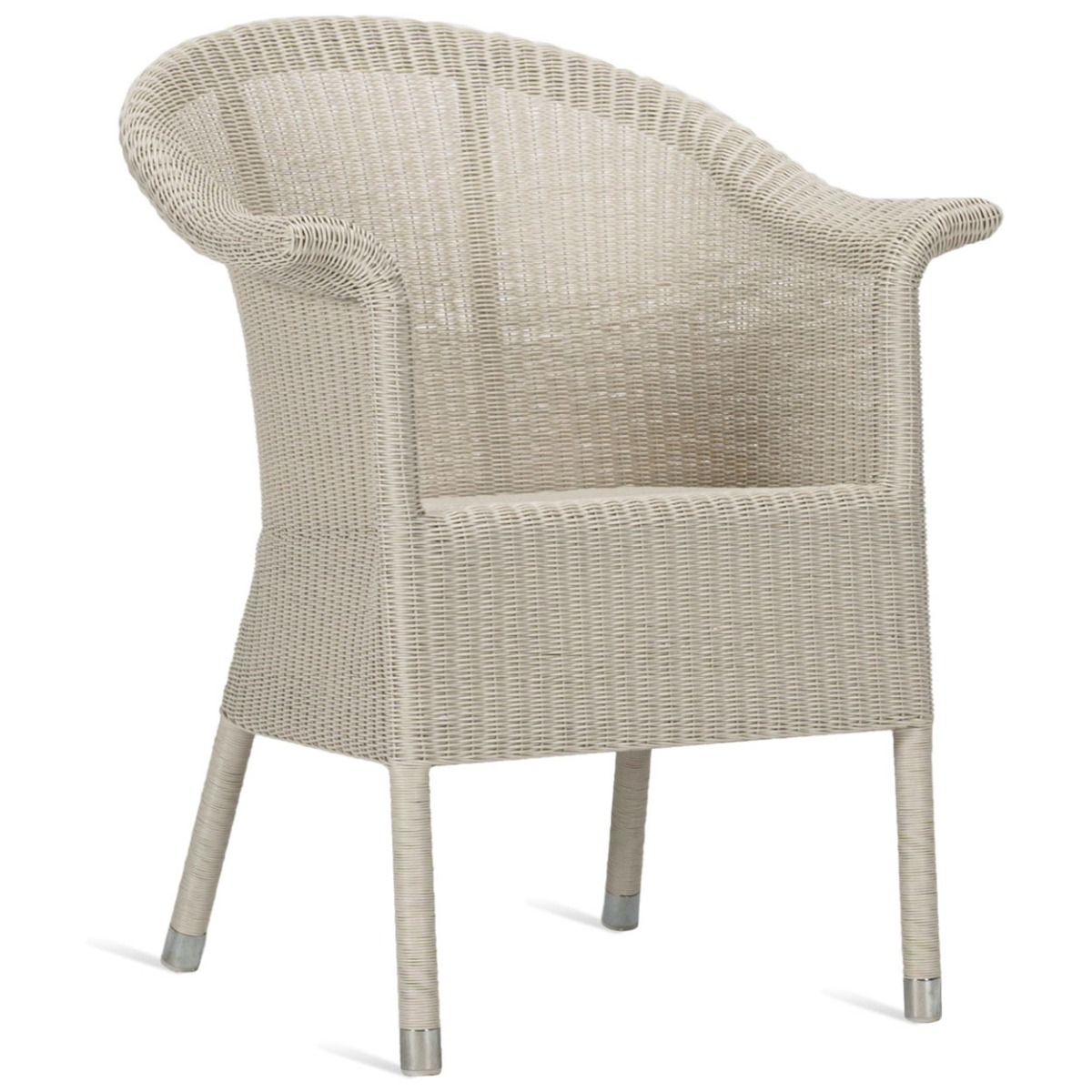 Vincent Sheppard Kenzo Dining Chair? Wicker Tuinstoel ? Old Lace ? Aluminium Frame
