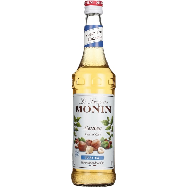 Monin Hazelnut Sugar Free 70CL
