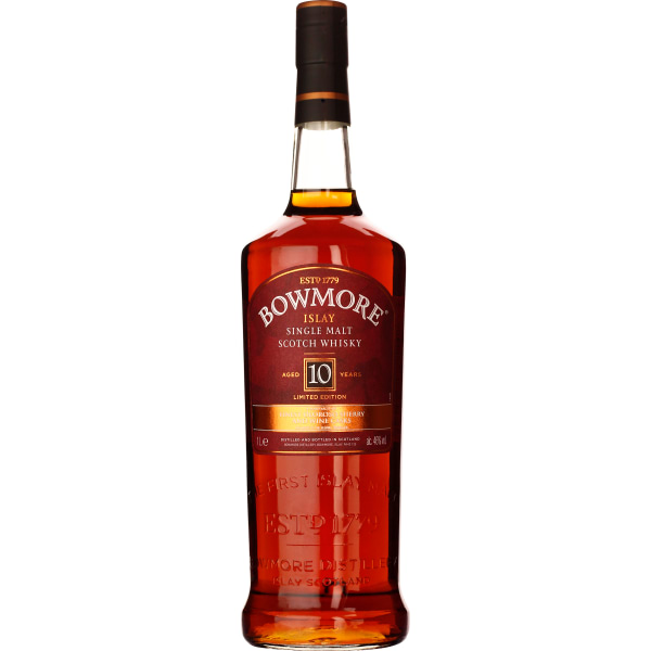 Bowmore 10 years Inspired By the Devil Casks Series 1LTR