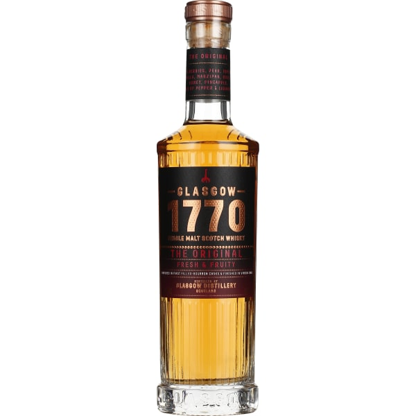 Glasgow 1770 The Original Fresh & Fruity Single Malt 50CL