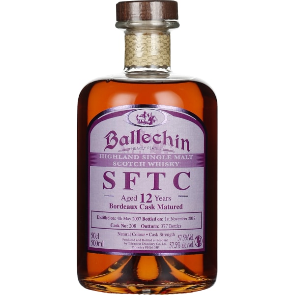 Edradour Ballechin 12 years Bordeaux Cask 50CL