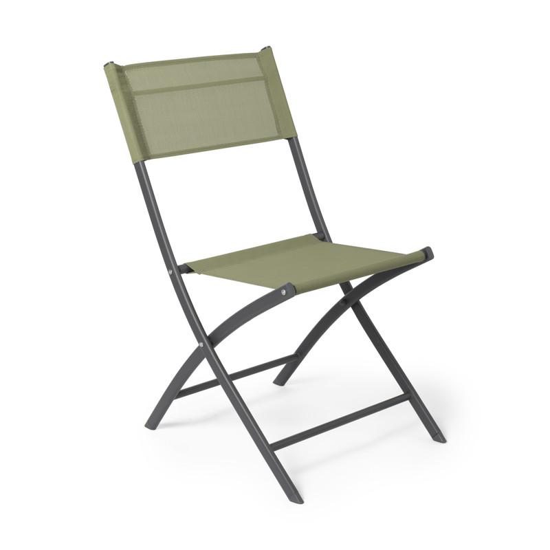 Vouwstoel - groen - 46x52x85 cm