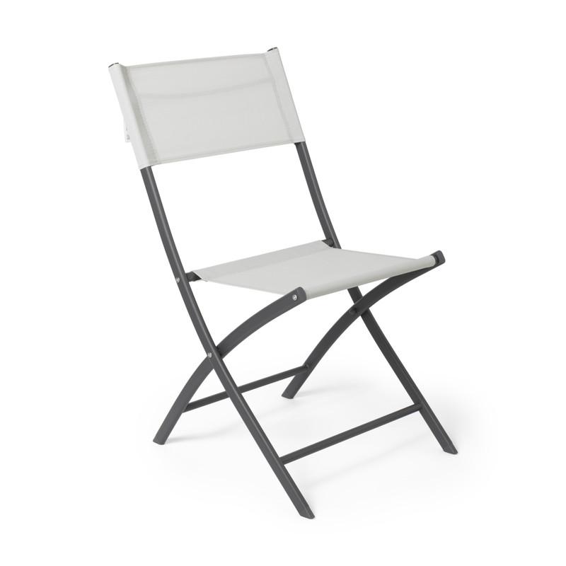 Vouwstoel - wit - 46x52x85 cm
