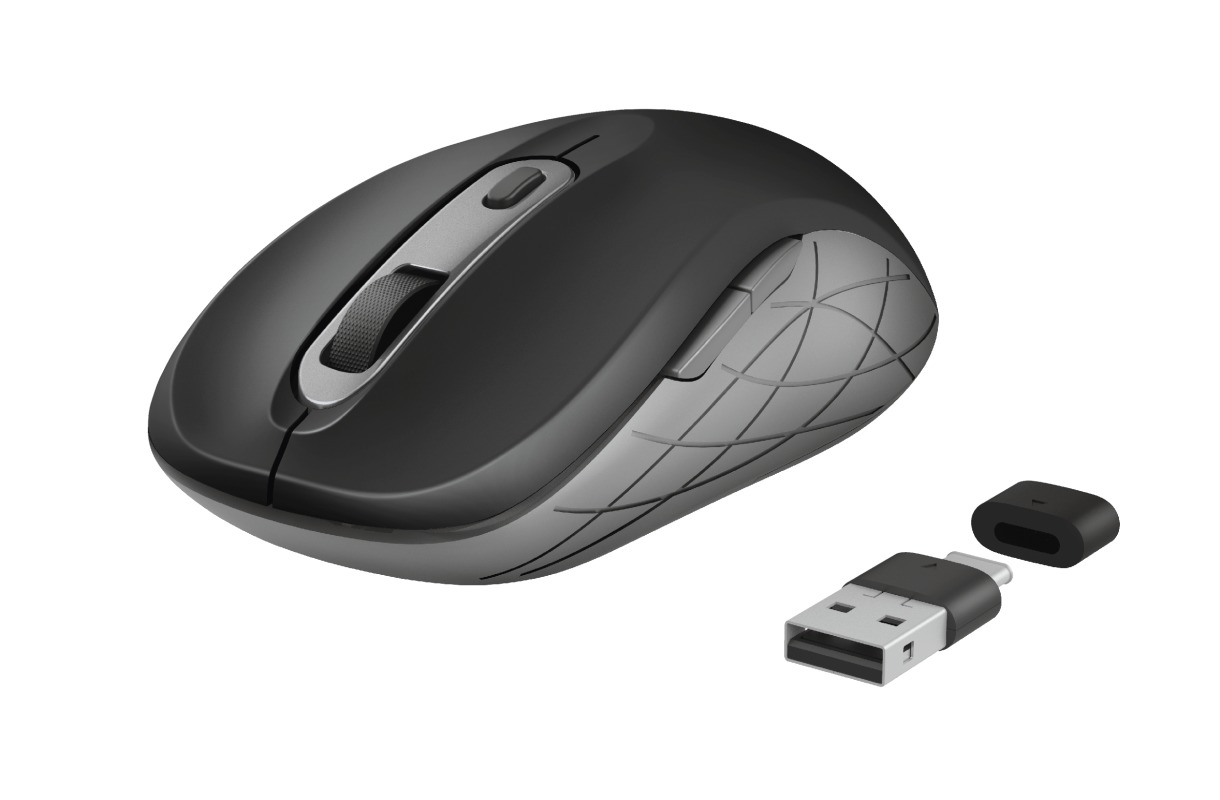 Trust DUCON WIRELESS MOUSE Muis