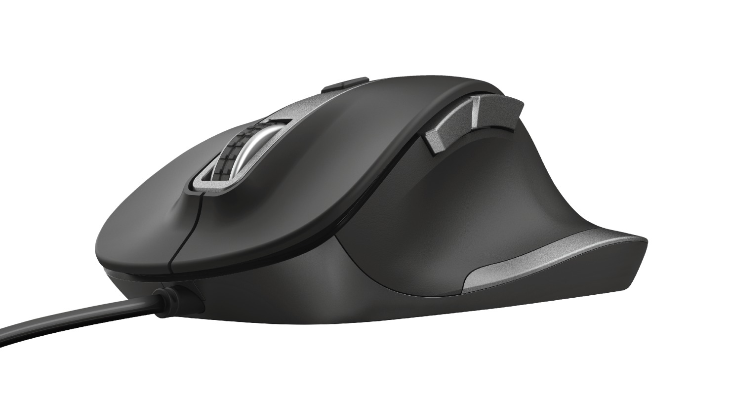 Trust FYDA WIRED MOUSE Muis