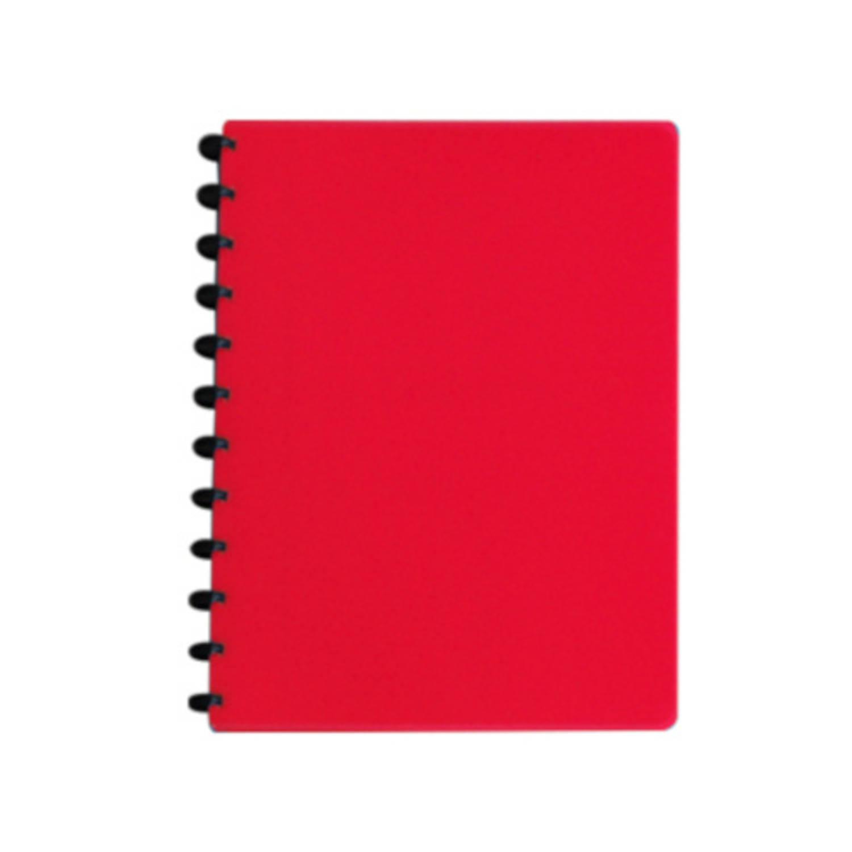 Verhaak Ringschrift Gelinieerd A4 Papier Rood