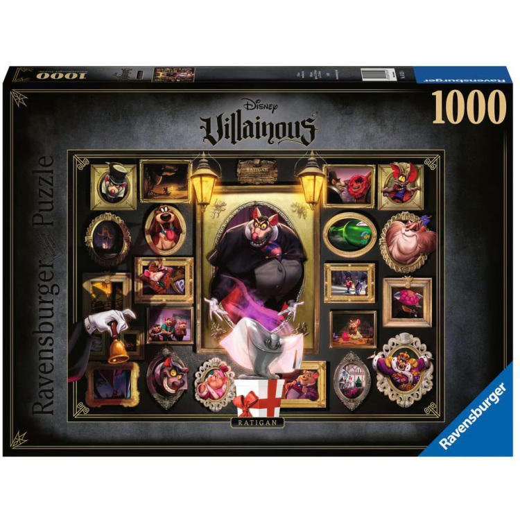 Ravensburger Disney Villainous - Ratigan 1000 stukjes