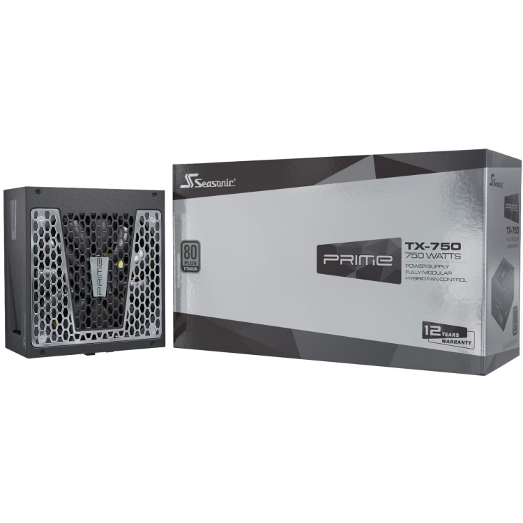 Seasonic PRIME TX-750, 750 Watt voeding 4x PCIe, Kabelmanagement