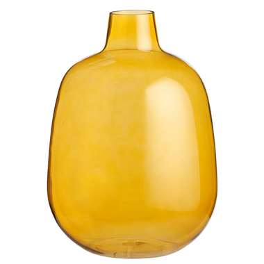 Vaas Kaapstad - geel - 40x29 cm - Leen Bakker