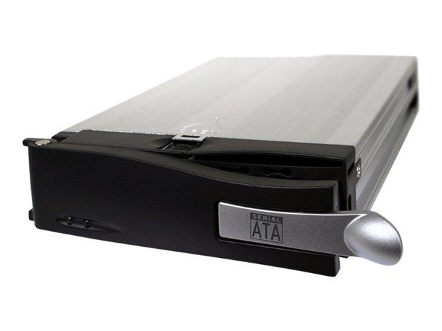 "Cremax MB123SRCK-1B - Opslagstation drager (caddy) met indicator elektriciteit, indicator voor HDD-storing - 3.5"" - zwart"