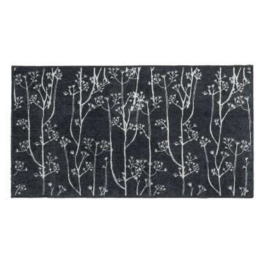 Mat Universal Dandelions - grijs - 67x120 cm - Leen Bakker