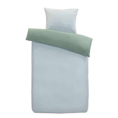 At Home by Beddinghouse dekbedovertrek Gentle - blauw/groen - 140x200/220 cm - Leen Bakker