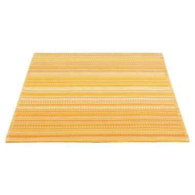 Vloerkleed Sunset - geel/wit - 120x180 cm - Leen Bakker
