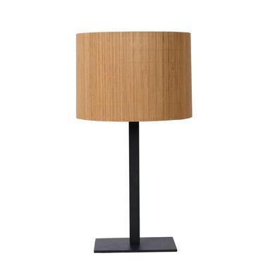 Lucide tafellamp Magius - licht hout - Leen Bakker