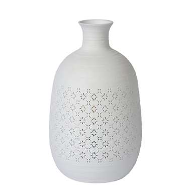 Lucide tafellamp Tiesse - wit - 15,4 cm - Leen Bakker