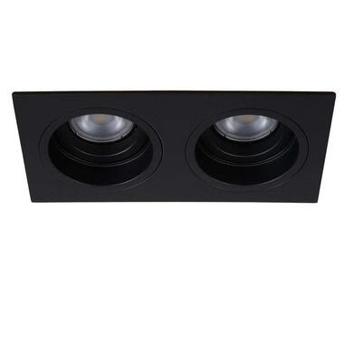 Lucide inbouwspot Embed 2 lichts - zwart - Leen Bakker