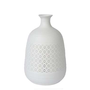 Lucide tafellamp Tiesse - wit - 18,6 cm - Leen Bakker