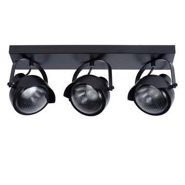 Lucide plafondspot Cicleta 3 lichts - zwart - Leen Bakker