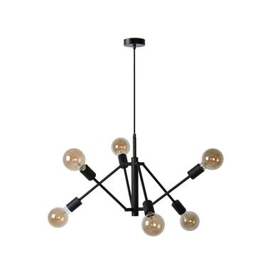 Lucide hanglamp Lester - zwart - Leen Bakker