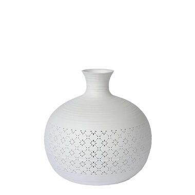 Lucide tafellamp Tiesse - wit - 19,6 cm - Leen Bakker