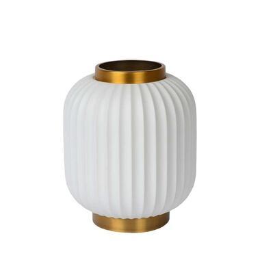 Lucide tafellamp Gosse - wit - 19,5 cm - Leen Bakker