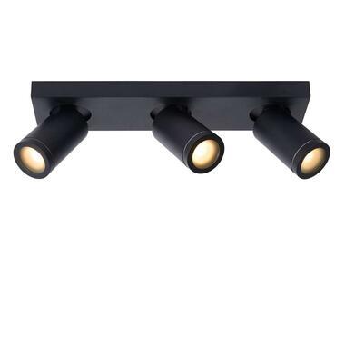 Lucide badkamerplafondspot Taylor 3 lichts - zwart - Leen Bakker